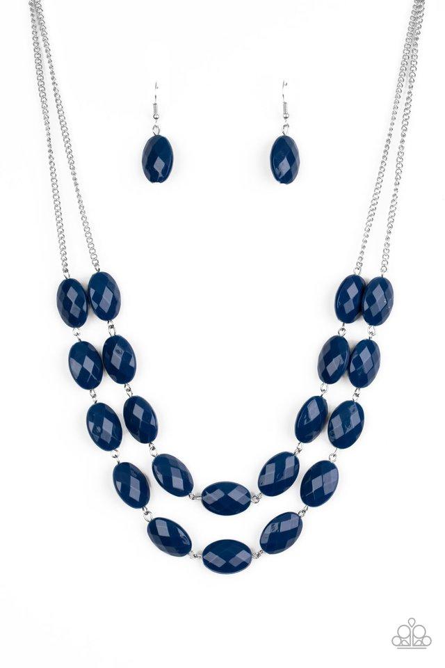 Max Volume - Blue - Paparazzi Necklace Image
