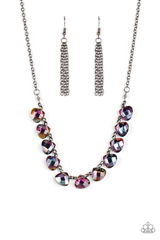 Catch a Fallen Star - Multi - Paparazzi Necklace Image