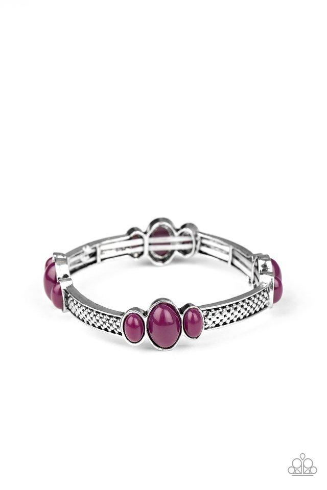 Instant Zen - Purple - Paparazzi Bracelet Image