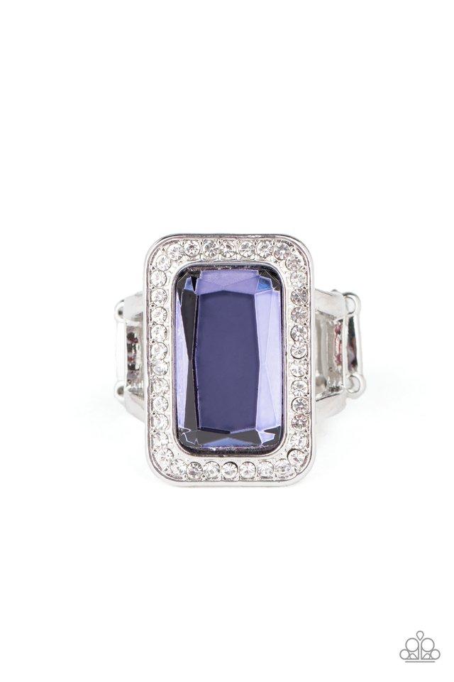 Crown Jewel Jubilee - Purple - Paparazzi Ring Image
