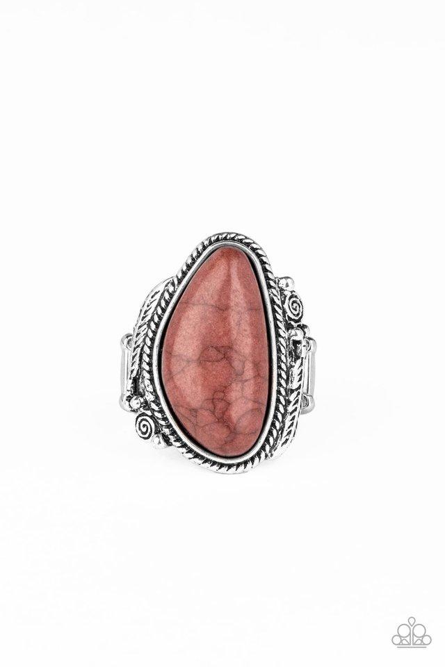 Mojave Magic - Brown - Paparazzi Ring Image