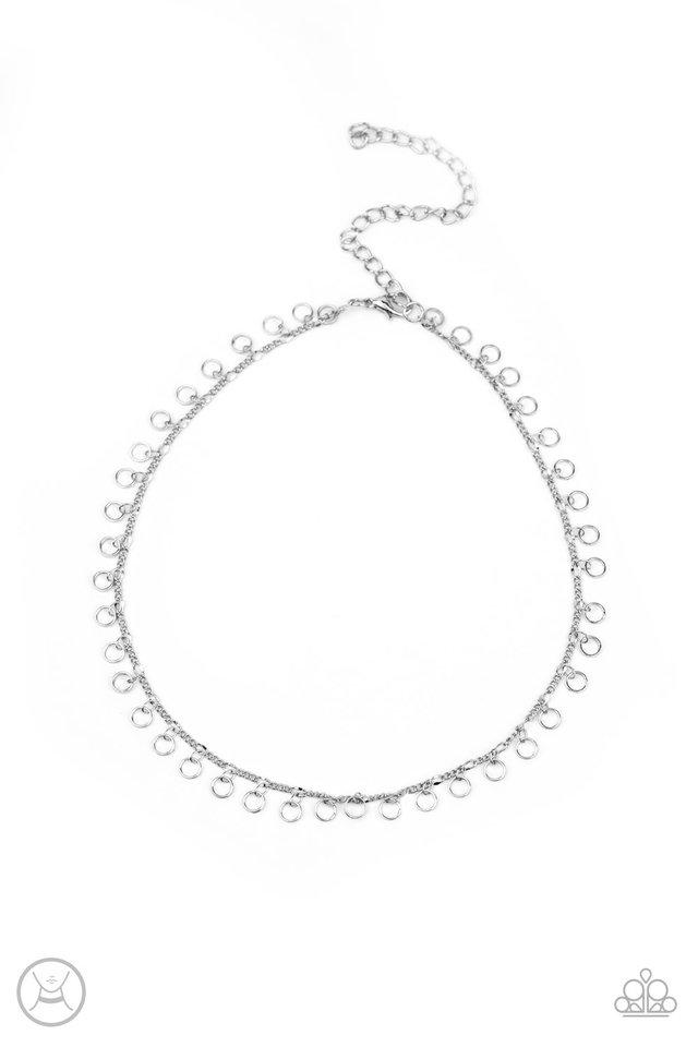 Minimalist Magic - Silver - Paparazzi Necklace Image