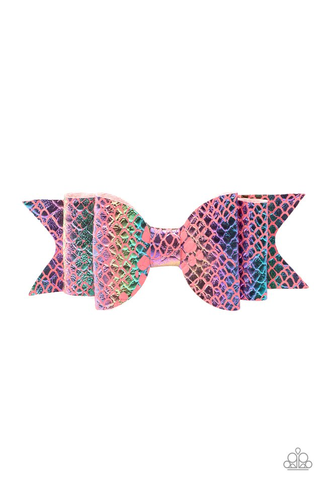 BOW Your Mind - Pink - Paparazzi Hair Accessories Image