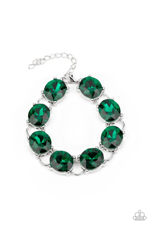 Mind Your Manners - Green - Paparazzi Bracelet Image