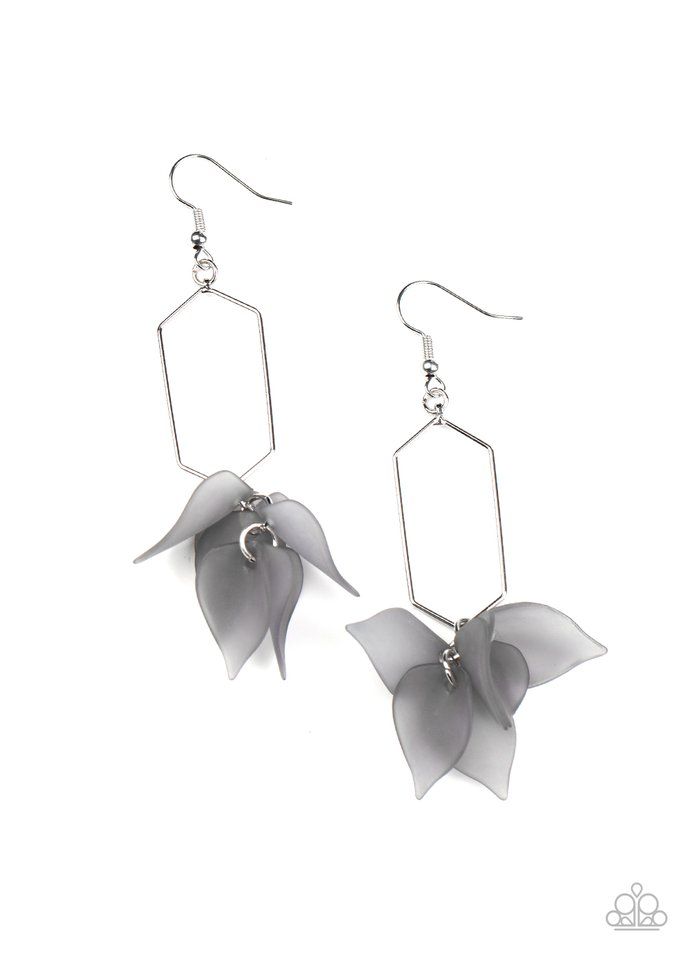 Extra Ethereal - Silver - Paparazzi Earring Image