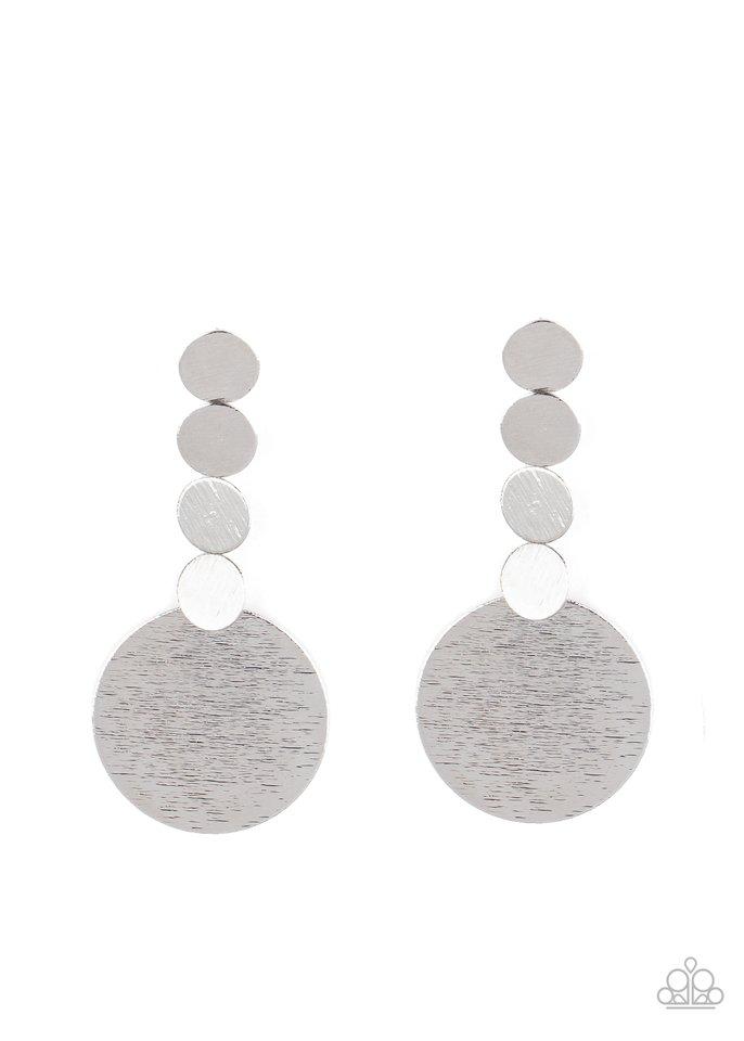 Idolized Illumination - Silver - Paparazzi Earring Image