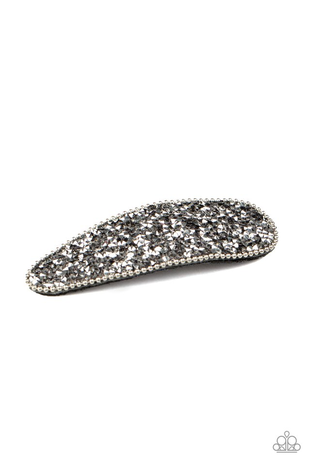 Didnt HAIR It From Me - Silver - Paparazzi Hair Accessories Image