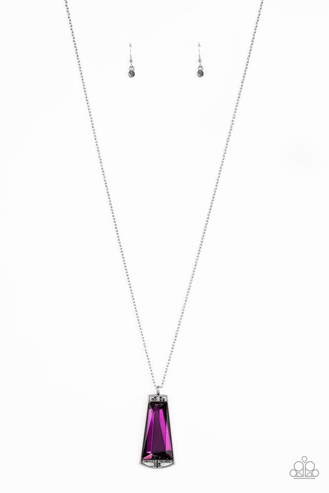 Empire State Elegance - Purple - Paparazzi Necklace Image