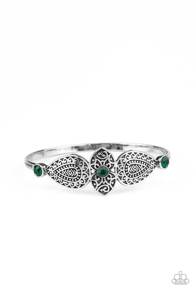 Flourishing Fashion - Green - Paparazzi Bracelet Image