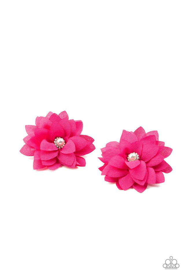 Things That Go BLOOM! - Pink - Paparazzi Hair Accessories Image