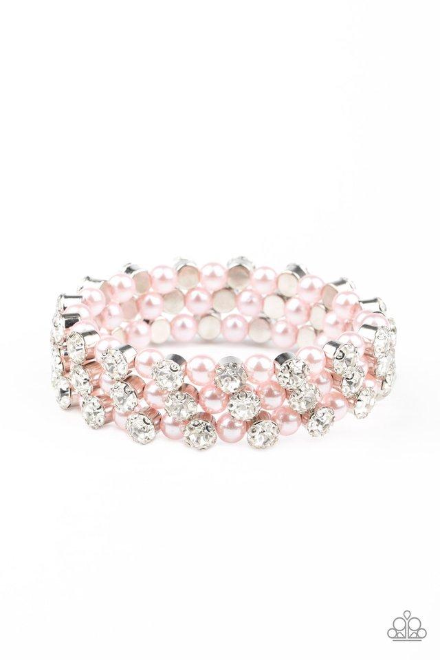 Metro Motif - Pink - Paparazzi Bracelet Image