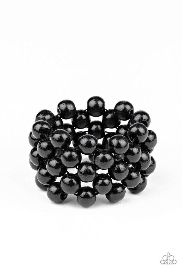 Tiki Tropicana - Black - Paparazzi Bracelet Image