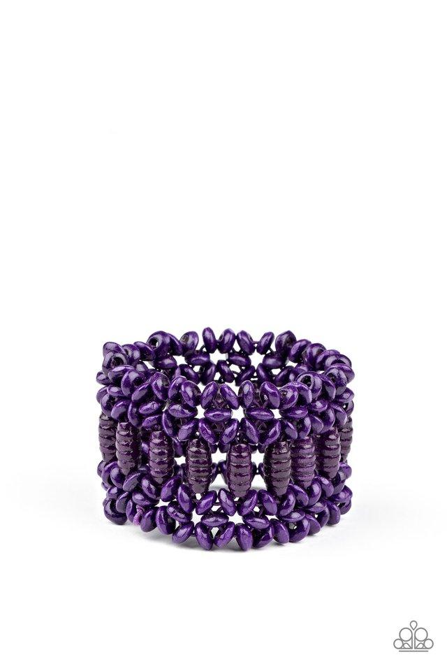 Fiji Flavor - Purple - Paparazzi Bracelet Image