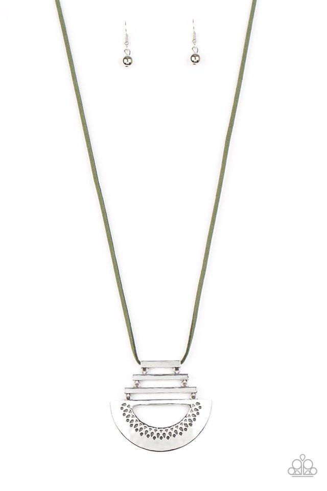 Rise and SHRINE - Green - Paparazzi Necklace Image