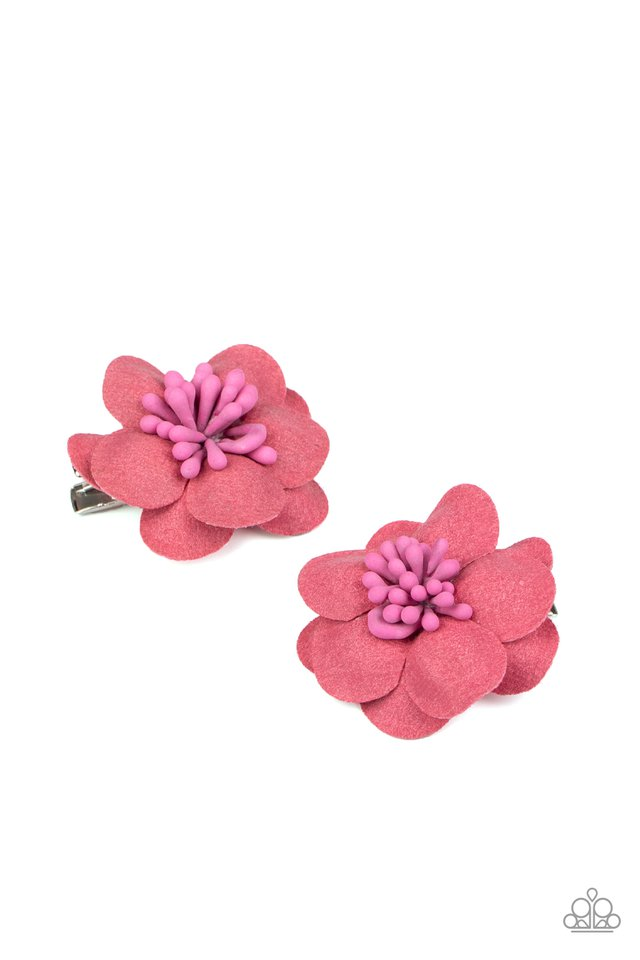 Look At Her GROW! - Pink - Paparazzi Hair Accessories Image
