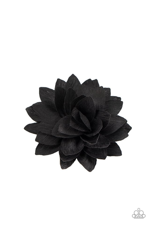Summer Is In The Air - Black - Paparazzi Hair Accessories Image