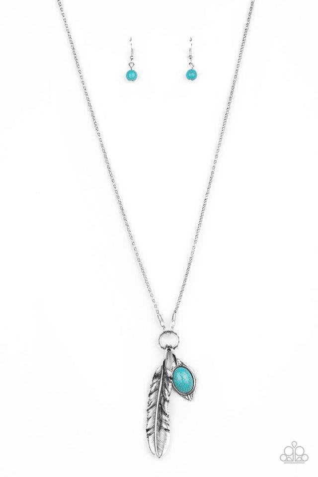 Sahara Quest - Blue - Paparazzi Necklace Image