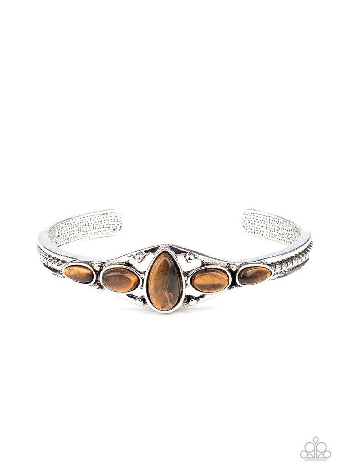 Dream Beam - Brown - Paparazzi Bracelet Image