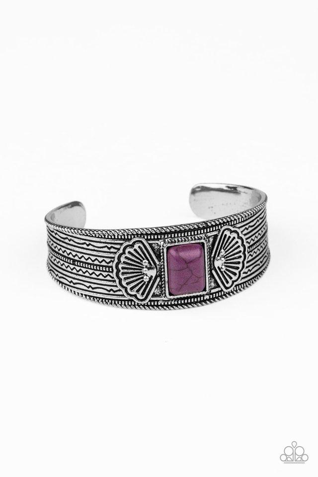 Ocean Mist - Purple - Paparazzi Bracelet Image