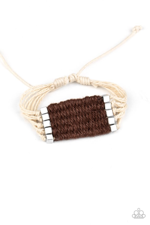 Beachology - Brown - Paparazzi Bracelet Image