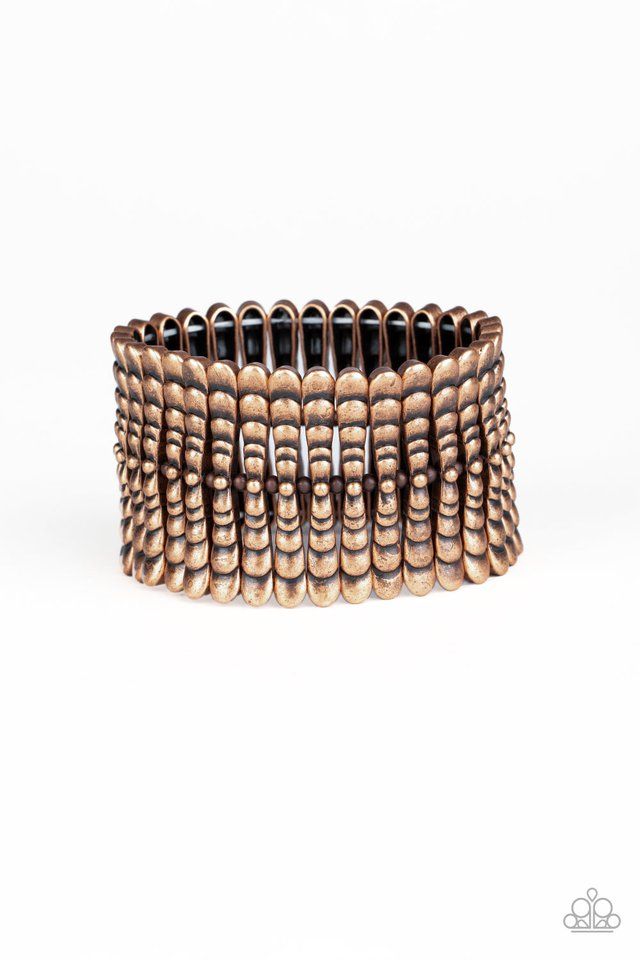 Level The Field - Copper - Paparazzi Bracelet Image