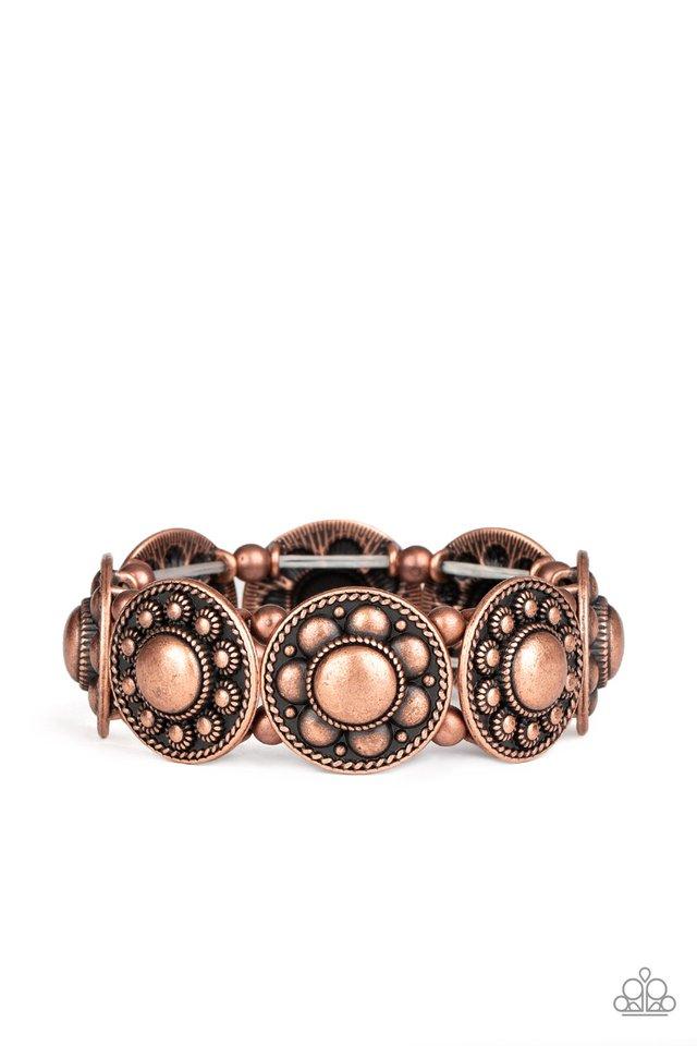 Rural Fields - Copper - Paparazzi Bracelet Image