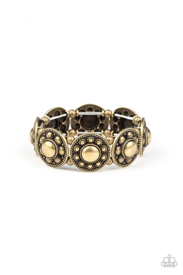 Rural Fields - Brass - Paparazzi Bracelet Image