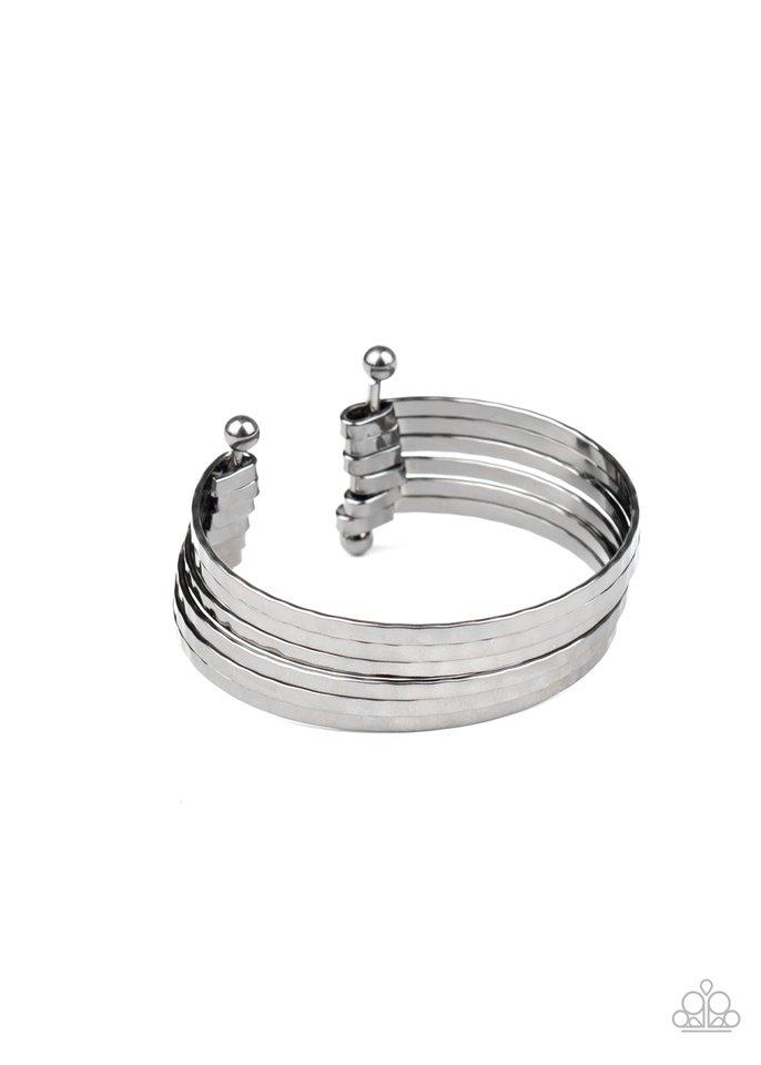 BAUBLE-Headed - Black - Paparazzi Bracelet Image