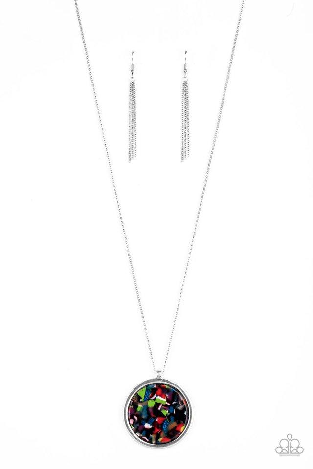 Its POP Secret! - Multi - Paparazzi Necklace Image