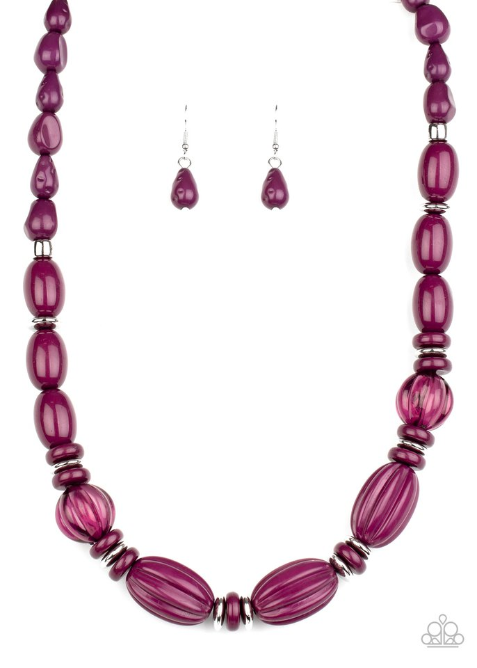 High Alert - Purple - Paparazzi Necklace Image