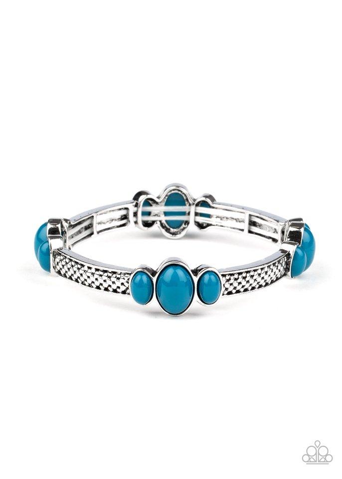 Instant Zen - Blue - Paparazzi Bracelet Image