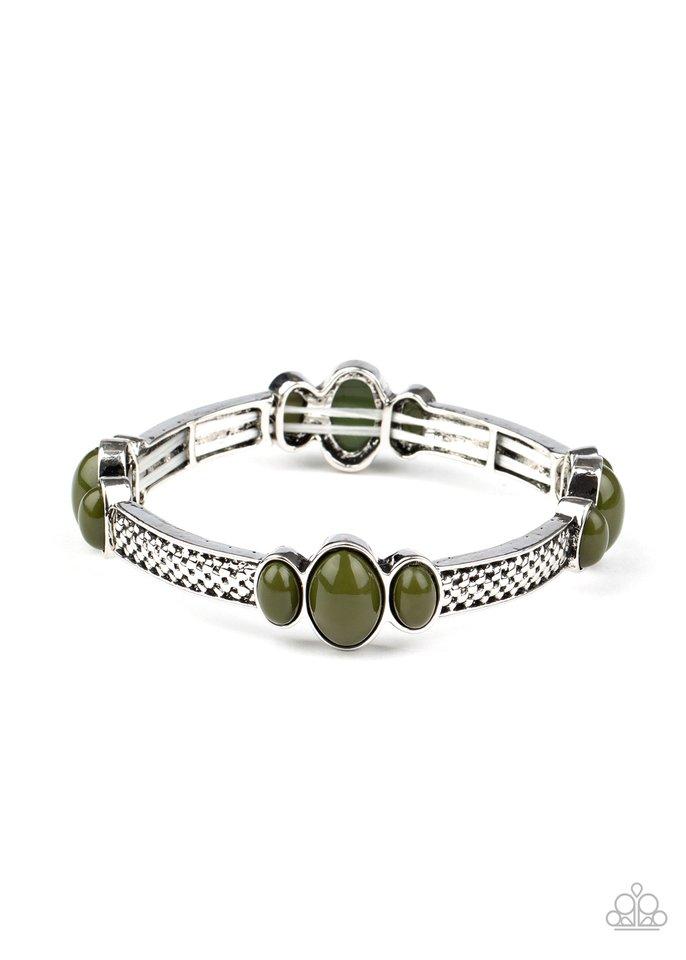 Instant Zen - Green - Paparazzi Bracelet Image
