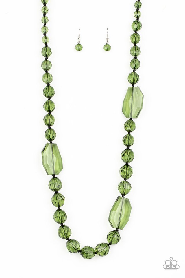 Malibu Masterpiece - Green - Paparazzi Necklace Image