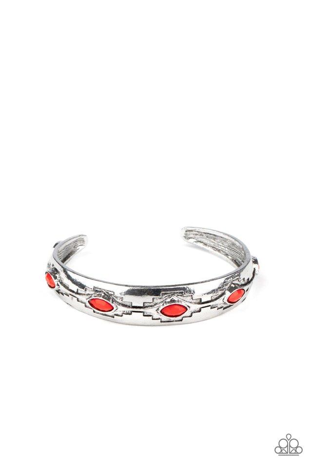 Santa Fe Scene - Red - Paparazzi Bracelet Image
