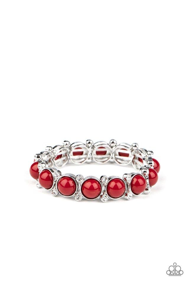 Flamboyantly Fruity - Red - Paparazzi Bracelet Image
