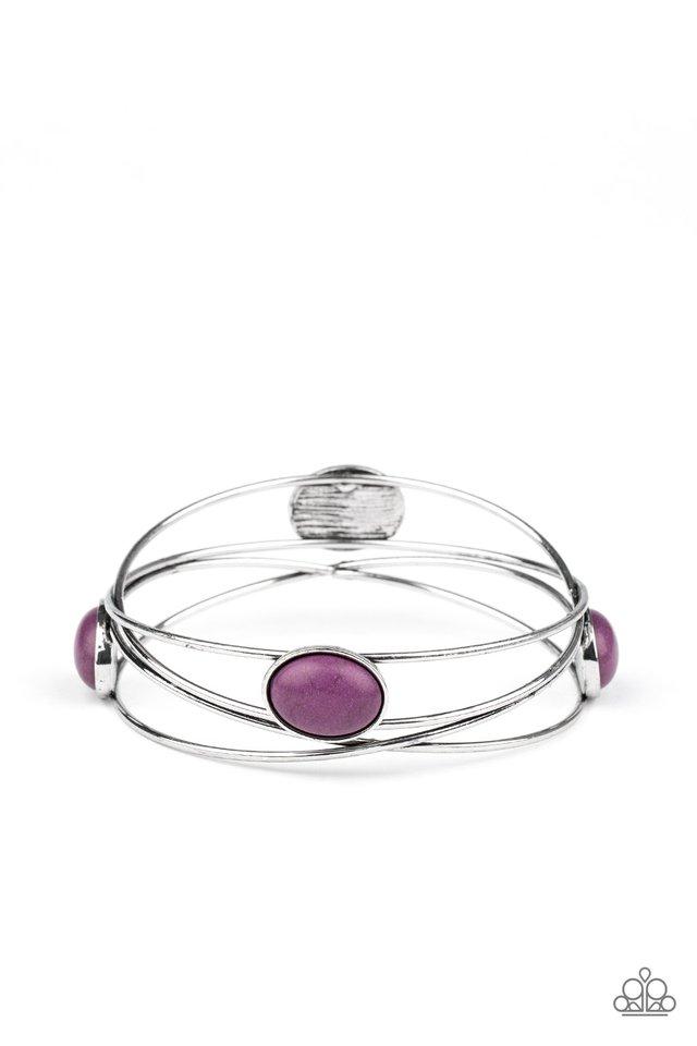 Desert Lagoon - Purple - Paparazzi Bracelet Image