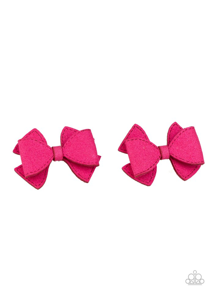 Dont BOW It - Pink - Paparazzi Hair Accessories Image