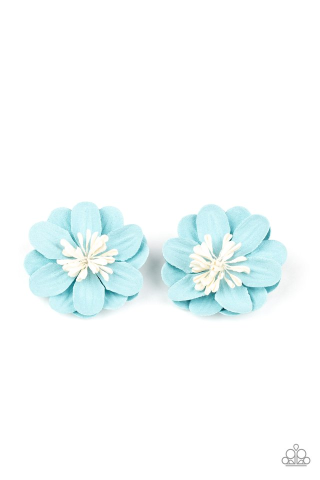 You GROW Girl - Blue - Paparazzi Hair Accessories Image