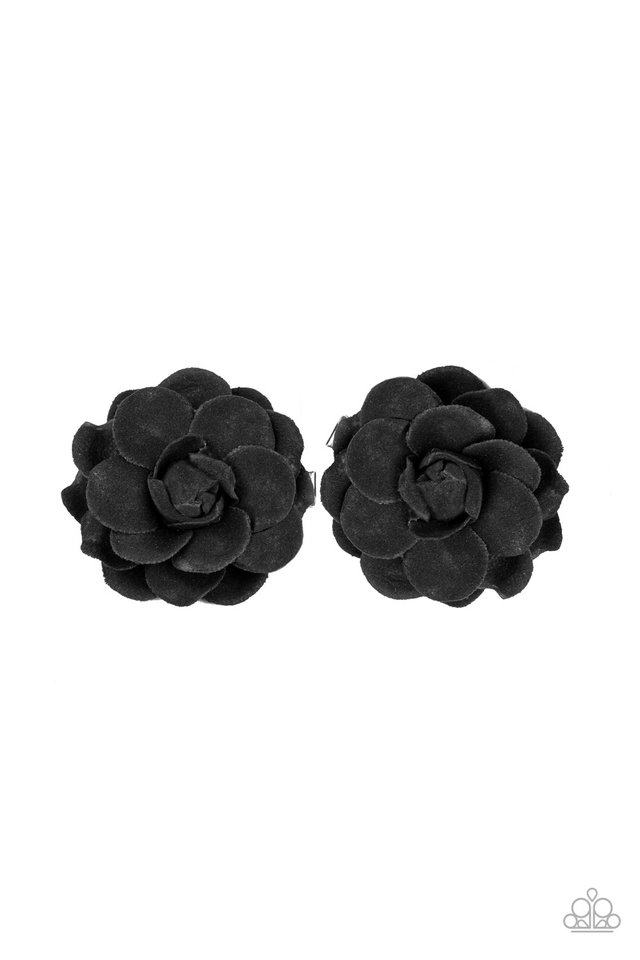 Shes a GROW-Getter - Black - Paparazzi Hair Accessories Image