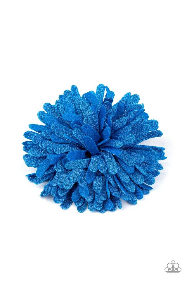 Neon Garden - Blue - Paparazzi Hair Accessories Image