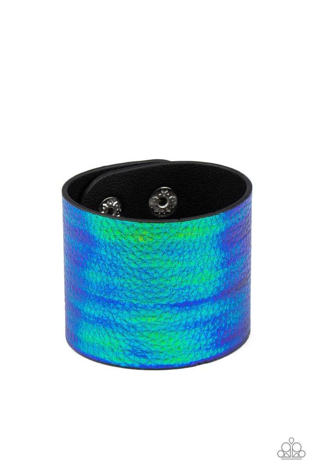 Cosmo Cruise - Blue - Paparazzi Bracelet Image