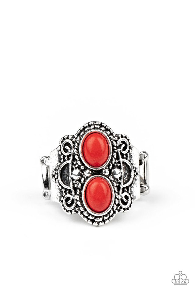 Eco Essence - Red - Paparazzi Ring Image