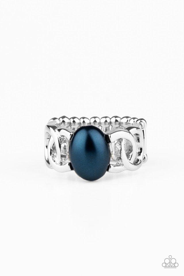 Glamified Glam - Blue - Paparazzi Ring Image