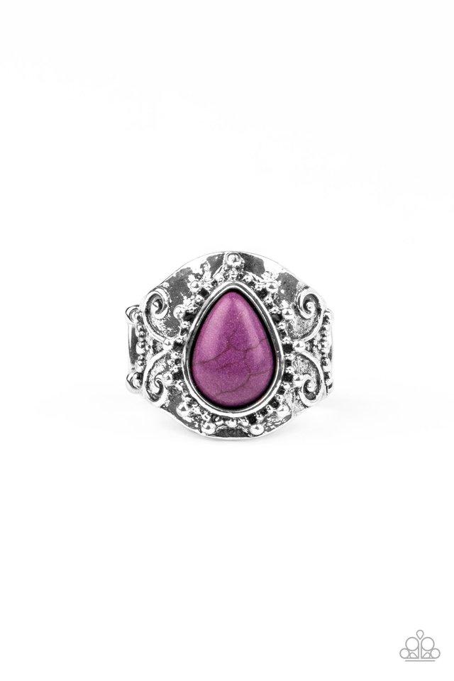 Desert Dream - Purple - Paparazzi Ring Image