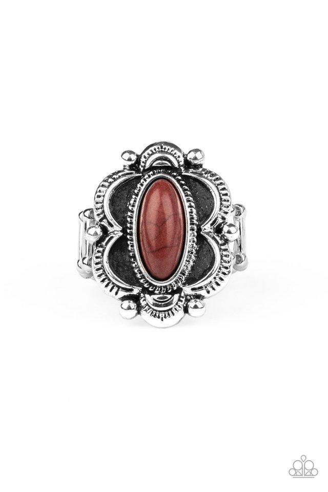 Sage Garden - Brown - Paparazzi Ring Image