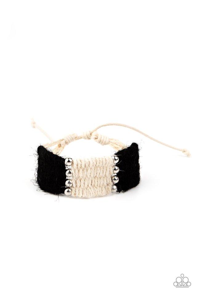 High Tides - Black - Paparazzi Bracelet Image