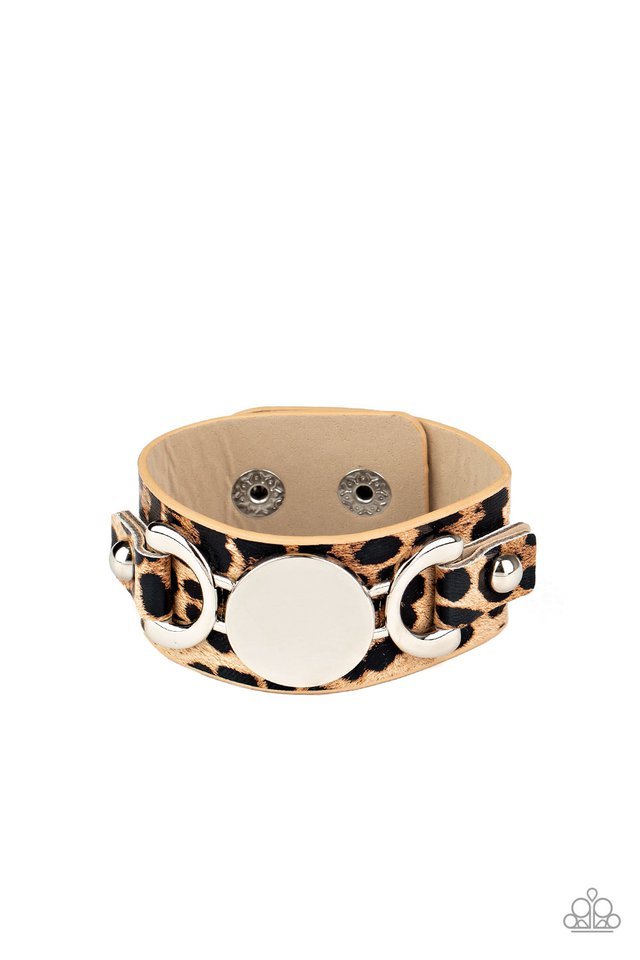Your Claws are Showing - Brown - Paparazzi Bracelet Image