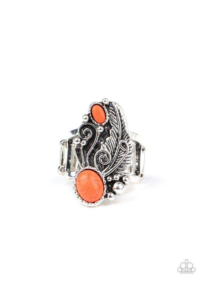Desert Nest - Orange - Paparazzi Ring Image