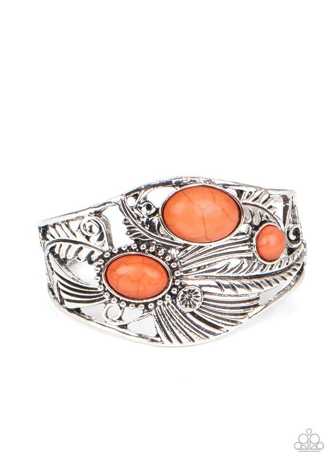 Mojave Moods - Orange - Paparazzi Bracelet Image