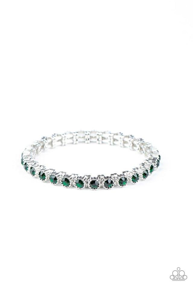 Starry Social - Green - Paparazzi Bracelet Image